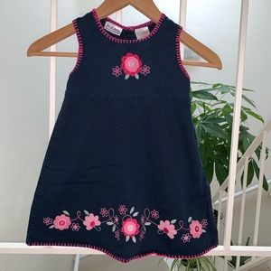 EUC Embroidered Flowers Dress